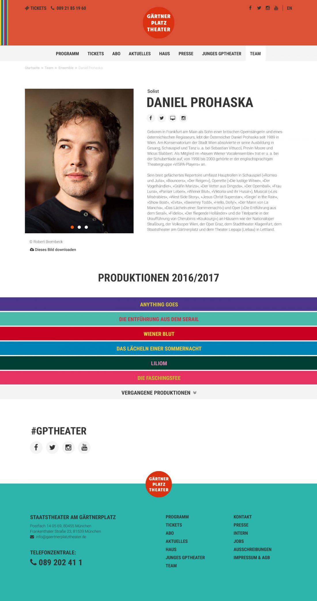 Screenshot Webseite Gärtnerplatztheater