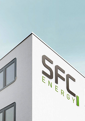 Webdesign Projekt SFC Energy